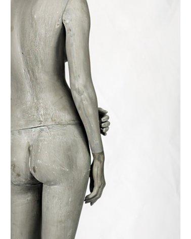 Maniquí Mujer Casual 5. Acabado Cemento