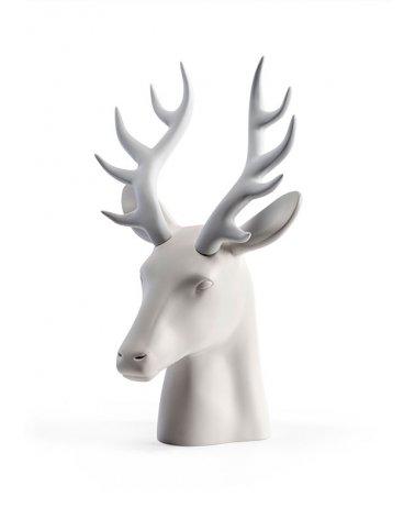 Miniatura de Cabeza de Ciervo en Poliester