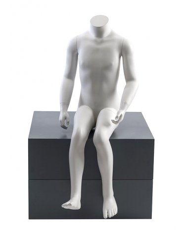 Headless Child Mannequin Sitting 4-years-old
