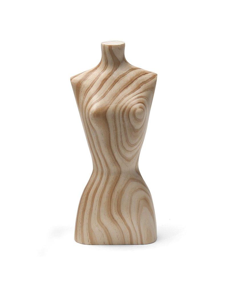 Bustos de madera en miniatura