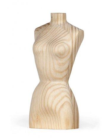 Miniature Wood Busts