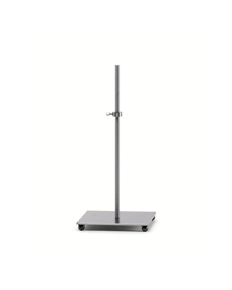 Metal base for display units with magnet