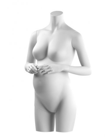 Pregnant woman headless torso, Anais 2
