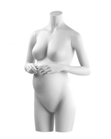 Torso mujer embarazada sin cabeza, Anais 2