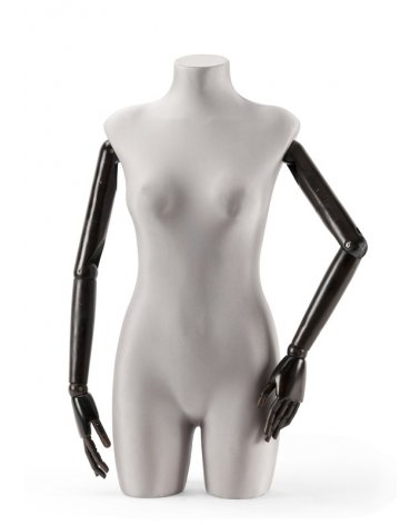 Female torso with articulated arms, Kate