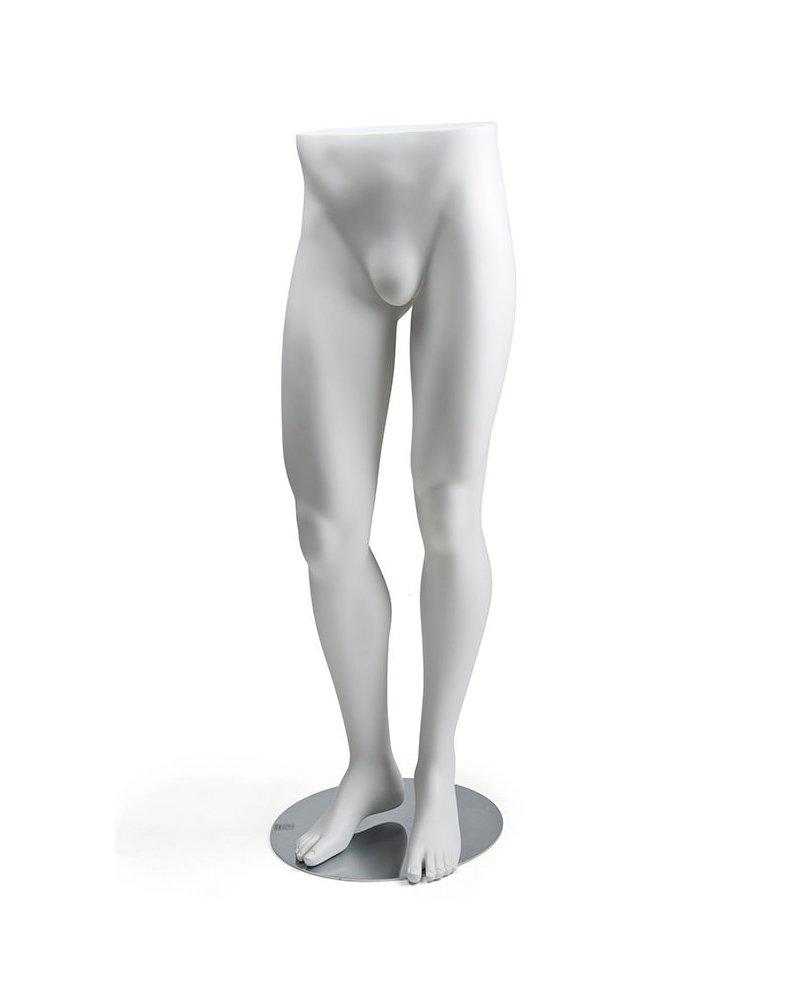 Expositor piernas hombre