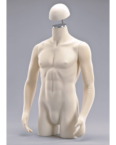 Male flexible torso