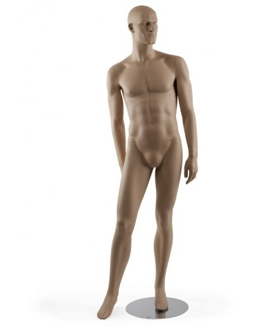 Male mannequin leg in front, Urban 8