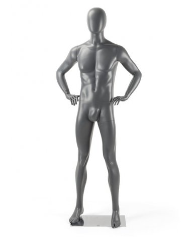 Man Mannequin arms in the waist, Art Homme 11