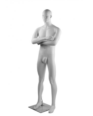 Man Mannequin with open posing legs, Hector 9