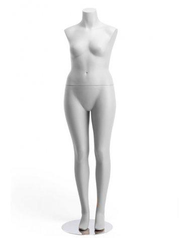 Woman Mannequin without arms, Talla & Estilo