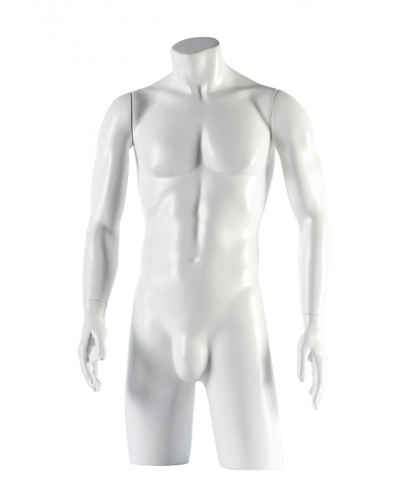 Male Torso with open straight arms, Fred 4