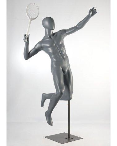 Maniquí de deporte, jugador de bádminton
