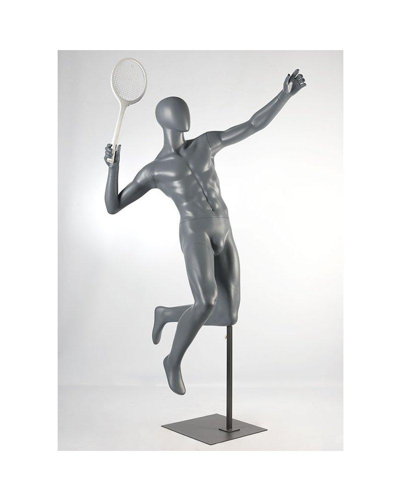 Sport mannequin, badminton player