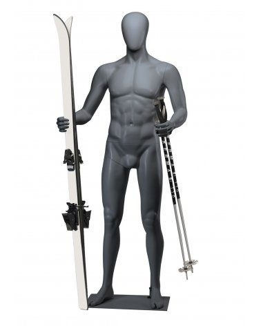 Male Sport Mannequin, Skiing 1