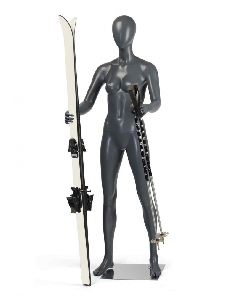 Maniquí Deporte Mujer, Esquí 1