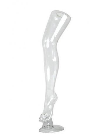 Transparent Stockings Leg Display, I Line